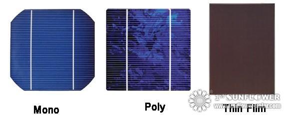 単結晶とアモルファス薄膜太陽電池の違いは何ですか? Solar Water Heater