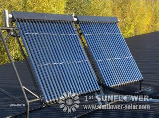 Pressure Tubular Solar Water Heater System Solar Water