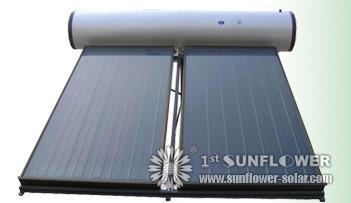 flachkollektoren solar water heater. Black Bedroom Furniture Sets. Home Design Ideas