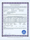SF-B245818 SRCC certificate from ITW lab