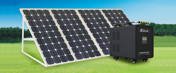 Stand-alone Solar PV system