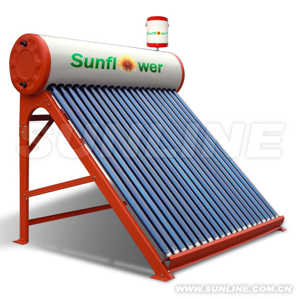 sunflower solar solar water heater. Black Bedroom Furniture Sets. Home Design Ideas