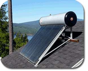 Sunflower solar solar water heater for Tin can solar heater